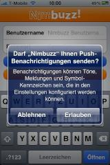 Nimbuzz unterst�tzt Push Notification