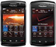 Blackberry Storm2 und Blackberry Storm