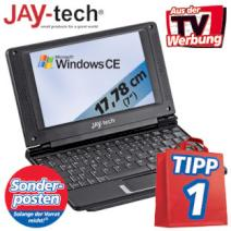 Angebot Netbook 100 Euro Jay-Book 9901 real 7 Zoll