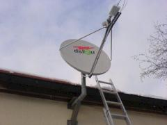 Internet per Satellit