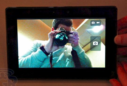 RIM Blackberry Playbook Tablet Hands On Test