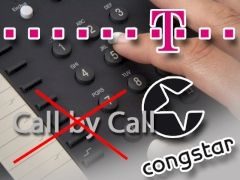 Streit um Call by Call bei congstar
