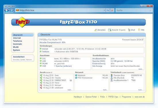 Android zugriff auf die fritz box warten auf fritz app - Fritzbox 7330 login ...