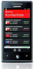 S-Banking f�r Windows Phone