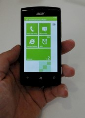 Acer W4 mit Windows Phone Mango