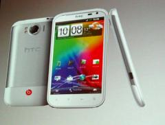HTC Sensation XL bei der Produktpr�sentation