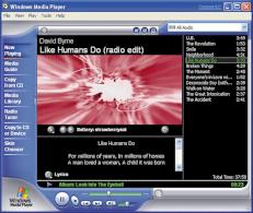 Windows Media Player: Unter XP nur f�r wenige Dateiformate