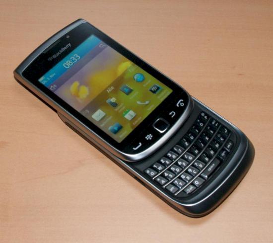 Blackberry Torch 9810: Slider-Smartphone von RIM im Test ...