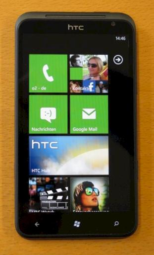 HTC Titan mit Windows Phone 7 im Test