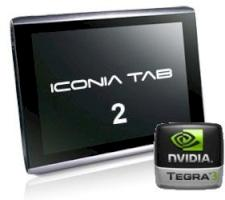 Acer Iconia Tab A510: Nvidia-Tegra-3-Tablet mit Android 4.0 best�tigt