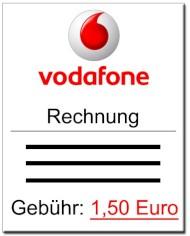 papierrechnung kostet bei vodafone ab februar generell 1 50 euro news. Black Bedroom Furniture Sets. Home Design Ideas
