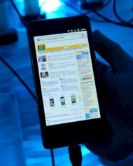 Intel-Smartphone mit Android