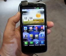 LG Optimus LTE: Gro�es, brilliantes Display