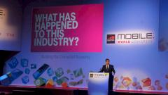 Ren� Obermann auf dem Mobile World Congress