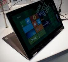 Lenovo Yoga mit Windows 8