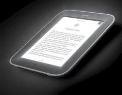 E-Book-Reader mit beleuchtetem e-Ink-Display von Barnes & Noble