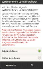 Software-Update f�r HTC One X