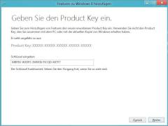 Der geheime Produktkey zur Reaktivierung des Windows Media Center