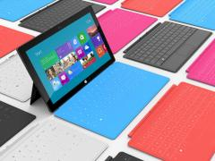 Surface-Tablets mit Touch Cover