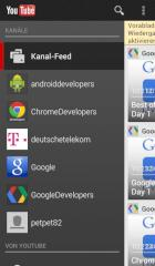 Neue YouTube-Version f�r Android