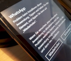 Probleme im Windows Phone Marketplace