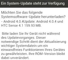 Software-Update f�r HTC One XL