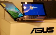 Asus Windows-8-Tablets mit Docking-Station.