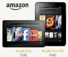 Amazon Kindle Fire in Deutschland: Tablet zu Preisen ab 159 Euro