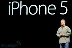 Marketing-Chef Phil Schiller pr�sentiert das iPhone 5.