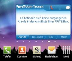 FRITZApp Ticker Widget