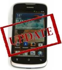 Huawei Ascend G300 erh�lt Update auf Android 4.0 ICS
