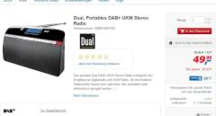 G�nstiges DAB+-Radio bei Real
