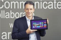 Zum Start von Windows 8: Windows-Chef Oliver G�rtler im Interview
