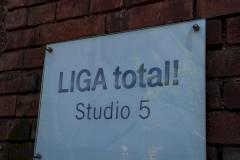 Liga-total!-Studio in Ismaning bei Constantin
