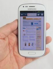 Samsung Galaxy S3 Mini im Test: Kleiner, langsamer ...