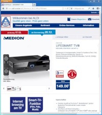 Smart-TV-Box bei ALDI