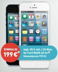 iPhone 5 bei BASE