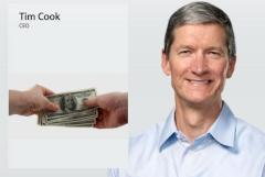 Geldsegen f�r Tim Cook: Apple-CEO erh�lt 4,17 Millionen Dollar