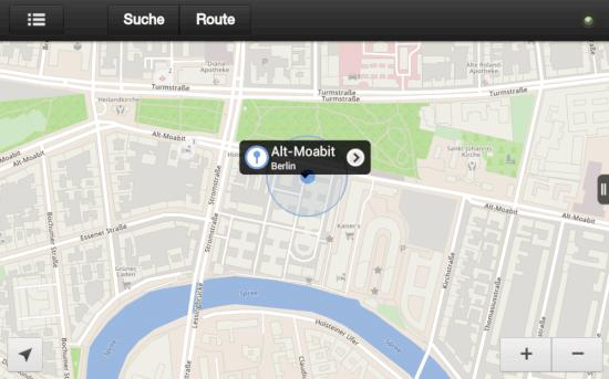 FreverMap 2 auf dem Kindle Fire HD: Alternative zu Google Maps