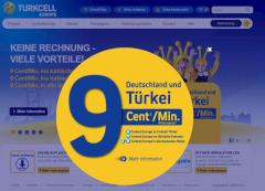 9-Cent-Aktion bei Turkcell