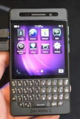 Blackberry 10 Dev Alpha C
