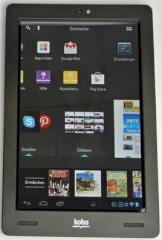 Nexus 7, Amazon Kindle Fire HD und Kobo arc im Tablet-Vergleich