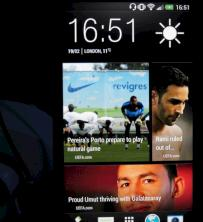 HTC Blink Feed als neuer Homescreen