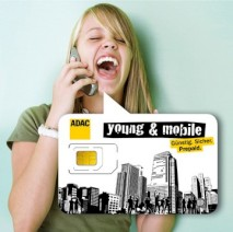 young and mobile f�r junge Leute