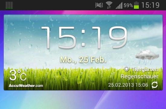 Jelly Bean auf dem Samsung Galaxy Note