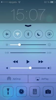 Control Center im Lockscreen