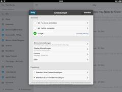 Digg Reader mit iOS-App