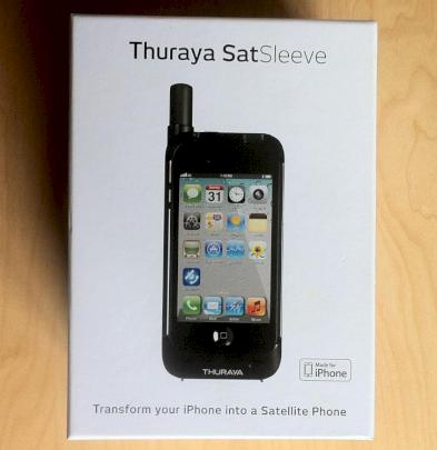 thuraya satsleeve satelliten telefonie mit dem iphone. Black Bedroom Furniture Sets. Home Design Ideas