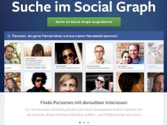 Screenshot Social Graph