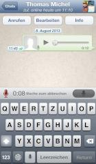 Push-to-Talk mit WhatsApp